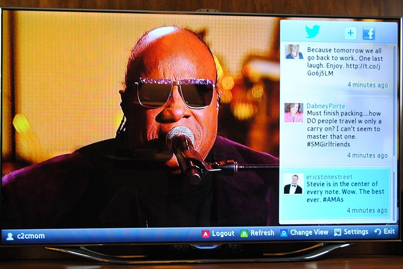 Samsung Social TV AMAs