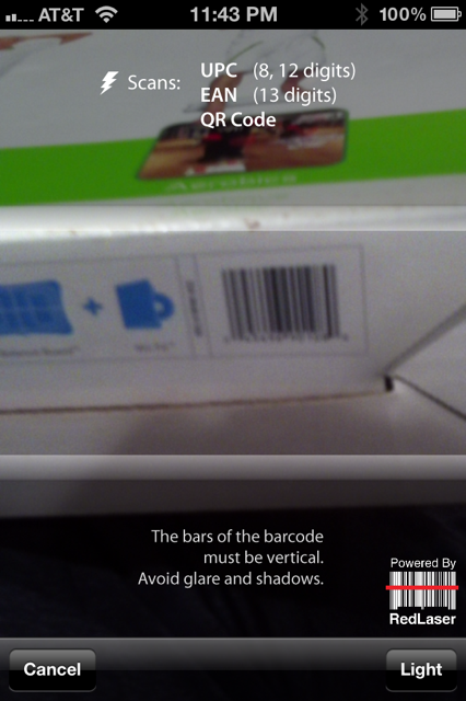 EBay Mobile App Scan 2