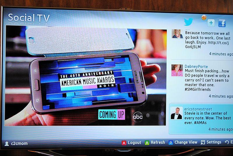 Samsung Social TV AMA