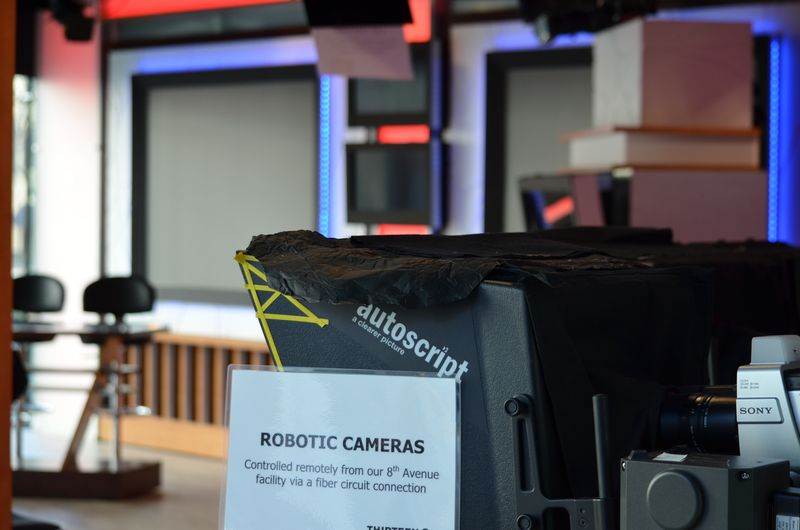 Cyberchase - THIRTEEN studio cameras